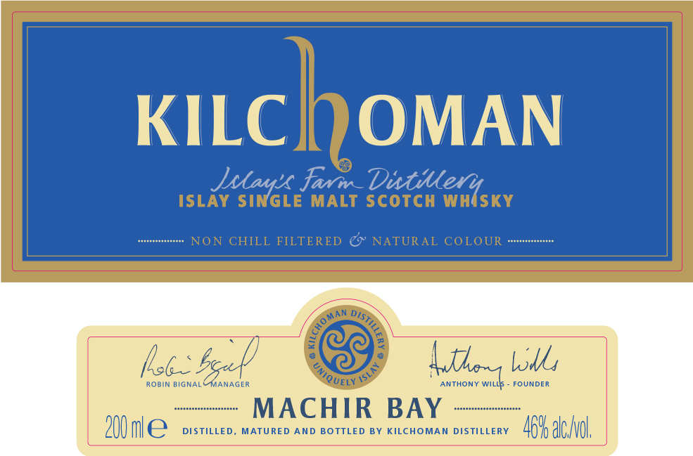 Sanaig & Machir Bay 200ml Label AW (2017)
